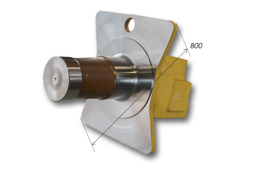 【品名】AXLE 【材質】SCSIMN1H 【サイズ】Φ80 L800(215Kg)